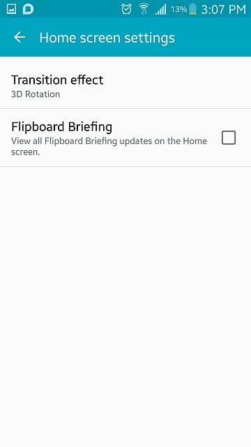 The Briefing page on the Galaxy S6, how can I get rid of it?-1433880508499.jpg