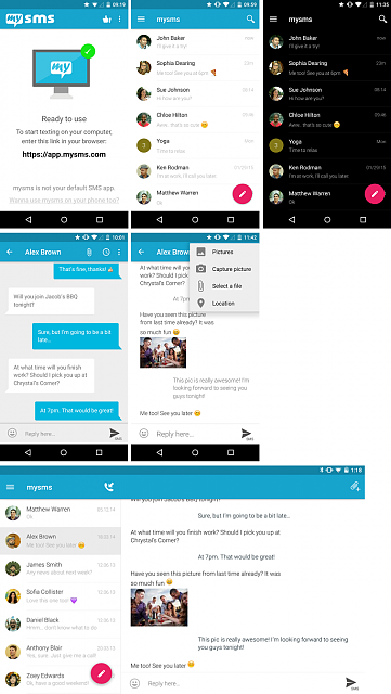 BF's Weekly App: mysms SMS Text Messaging-mysmscollage.png