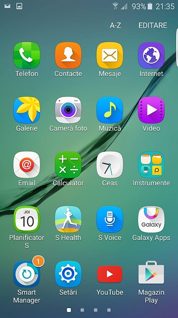 how to fix my icons size on samsung galaxy