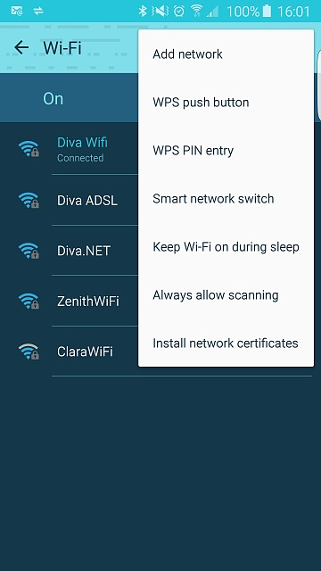 No 'Advance' menu in wifi setting - Android Forums at
