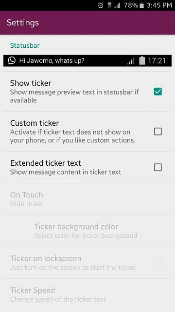 turn screen wake off for notifications - Android Forums at