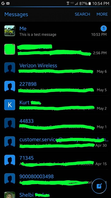 My text messages be like - 3 10