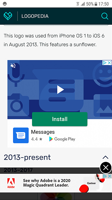 I'm seeing a Google Play ad with an unknown application to install-screenshot_20200911-175018.jpg