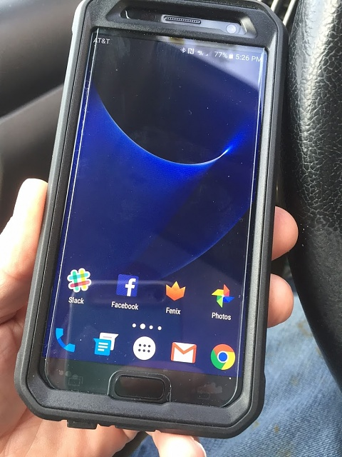how to change screen saver galaxie s7