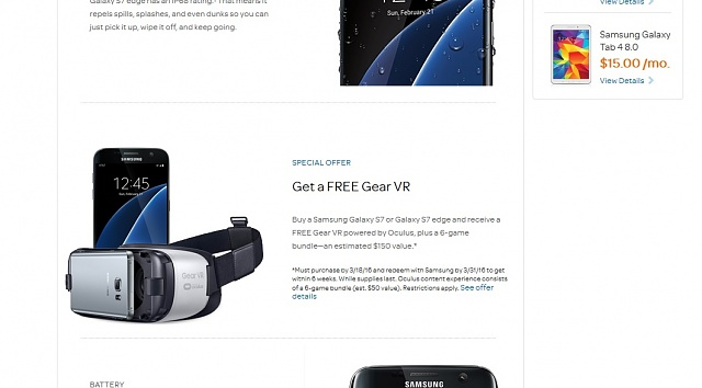 Since T-Mobile customers got them early -- Does this mean we won't get our free VR from Samsung?-gearvr.jpg