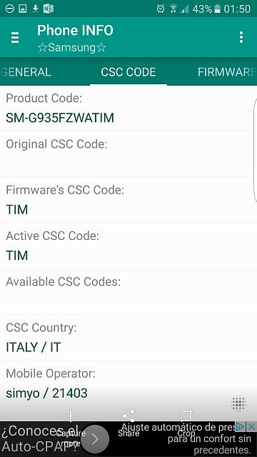 Change CSC to allow Japanese Locale? - Android Forums at