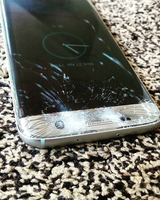 S7 Edge Cracked Screen + Front cam - Android Forums at AndroidCentral ...