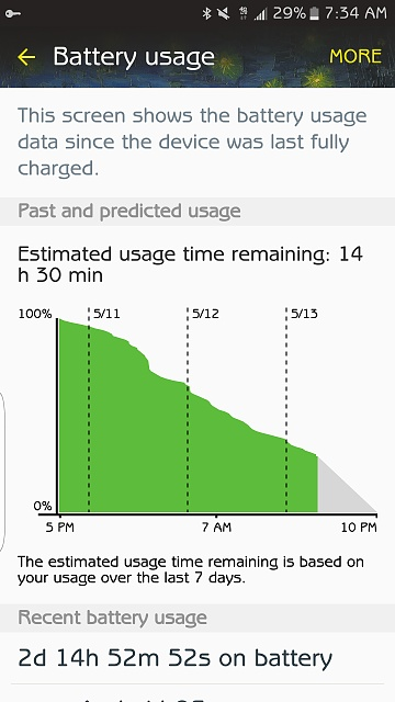S7 edge Battery life - Page 35