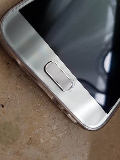 Paint On Home Button Is Peeling Anyone Else Have This