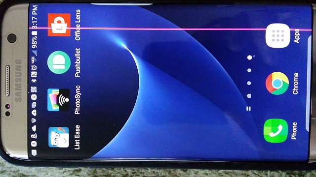 Vertical Purple Line On Screen Android Forums At