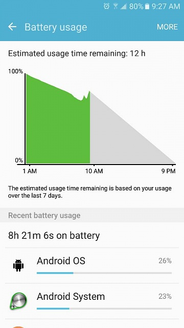 Battery dies incredibly fast lately-1484139532155.jpg