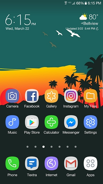 Post homescreen screenshots taken on your Samsung S7 Edge!-screenshot_20170322-181535.jpg