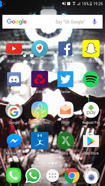 Blue circle in top left corner of screen  - Android Forums at