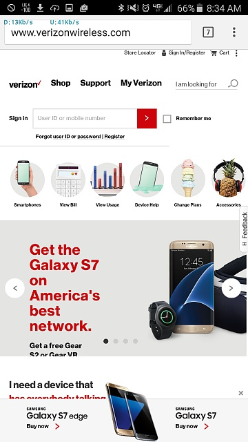 Get a free Gear S2 with the purchase of a Verizon S7/S7 Edge-uploadfromtaptalk1456504493607.jpg