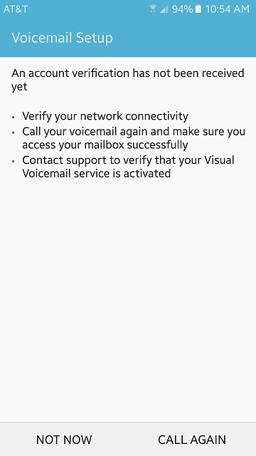 AT&T Visual Voicemail - Android Forums at AndroidCentral com