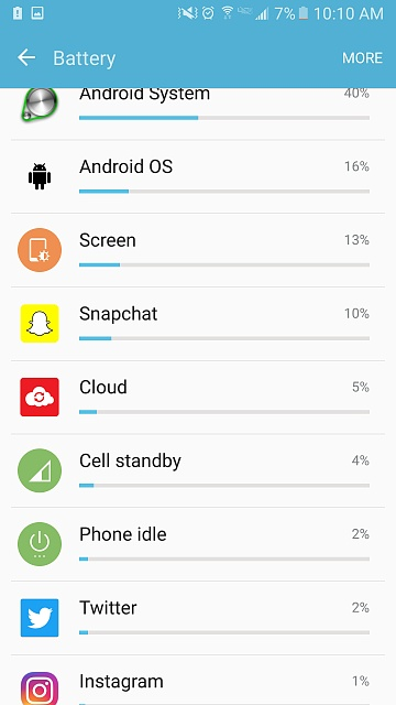 Galaxy s7- sudden  battery drain (Especially when idle)-screenshot_20160707-101035.jpg