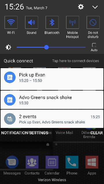 two calendar notifications - Android Forums at ...