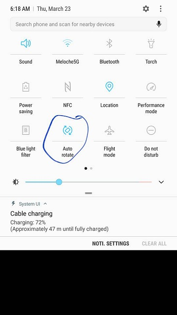 Did an updat on my s7 and now the auto rotation for the screen option is gone.-5526.jpg