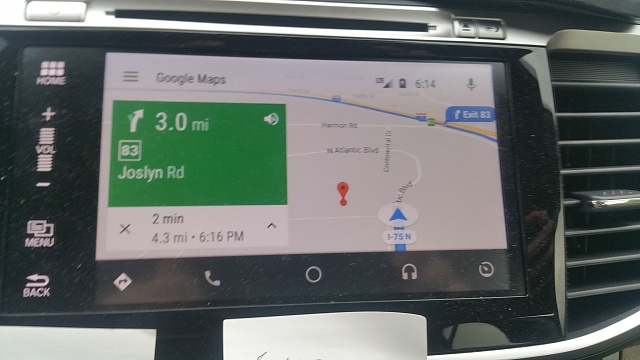GPS/Google Maps issue - Turn-by-turn timing is miles off