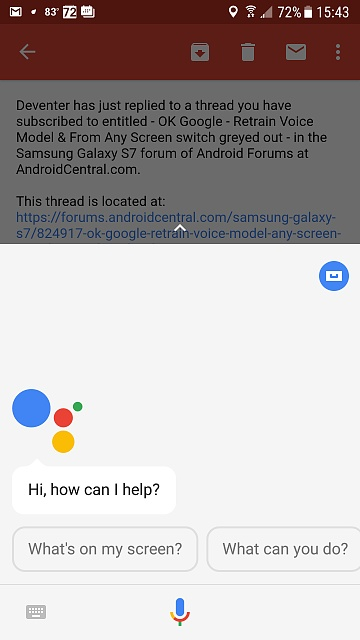 OK Google - Retrain Voice Model & From Any Screen switch greyed out-screenshot_20170813-154327.jpg