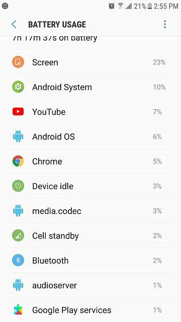 Is this a normal battery usage for a brand new Galaxy S7?-screenshot_20170912-145517.jpg