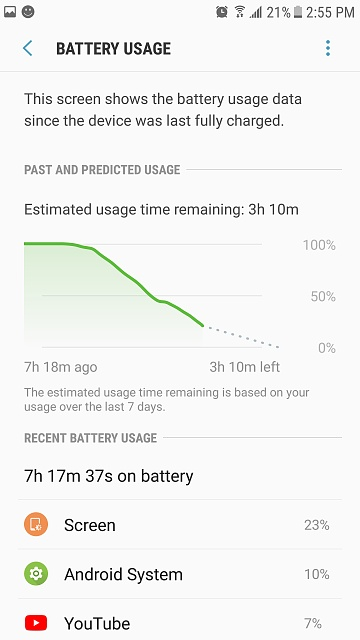 Is this a normal battery usage for a brand new Galaxy S7?-screenshot_20170912-145526.jpg