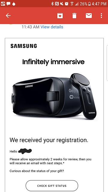 """Registration for """"immersive Gear VR experience for """" - How did it Go-20170419_164823.jpg"""