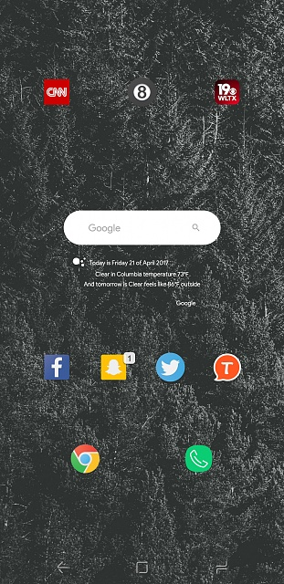 Post homescreen screenshots taken on your Samsung S8 / S8+-screenshot_20170421-224643.jpg