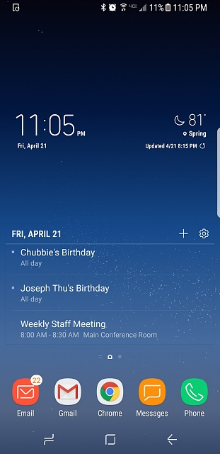 Post homescreen screenshots taken on your Samsung S8 / S8+-screenshot_20170421-230524.jpg