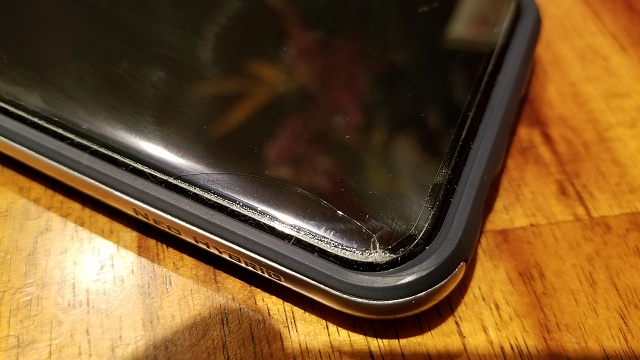 Dropped my phone today, survived-20170522_214144_1495507337505.jpg