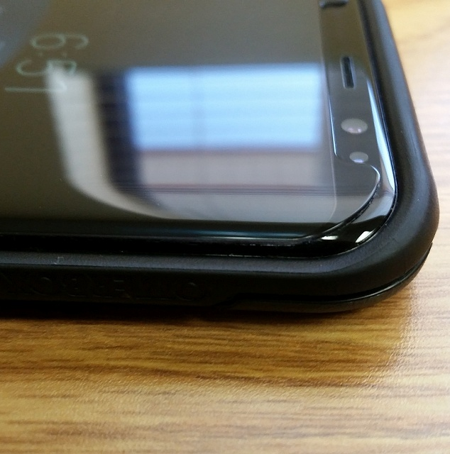 White Stone Dome Glass Review (Fail) - Android Forums at
