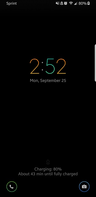 Is there a way to change the clock on the lock screen on the S8?-screen-1-.jpg