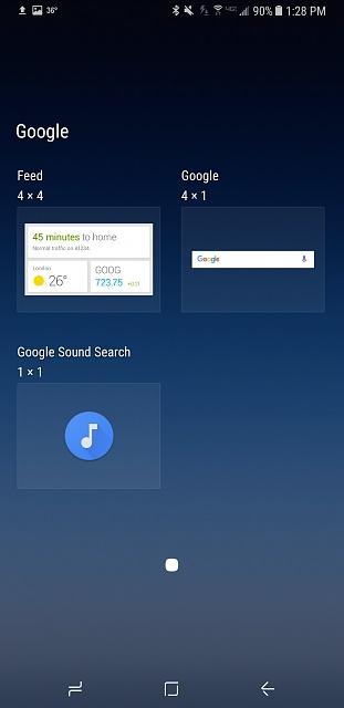 Can't find my original Google search bar - S8+ - Android Forums at