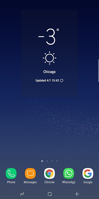Obnoxious weather widget background - Android Forums at