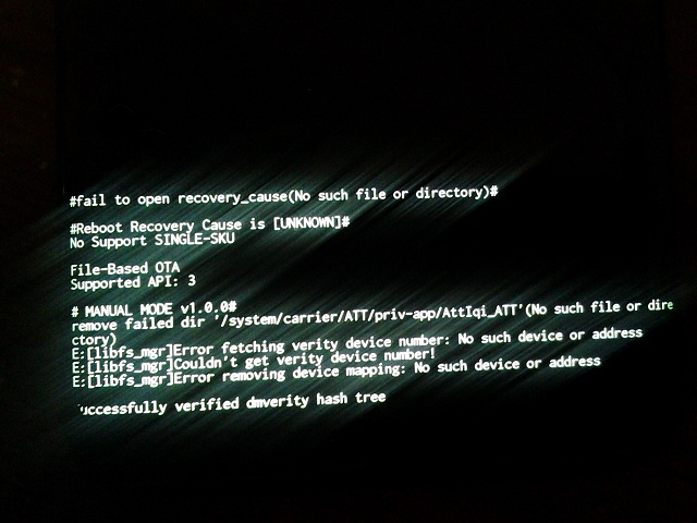 Errors on Recovery Screen after Hard Reset... now what?-20180807_210003.jpg