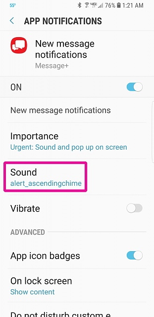 Messages+ Notification Sound Doesn't Work - Android Forums