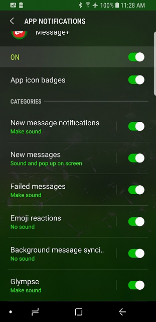 I have no sound with texts on galaxie s9 - Android Forums at