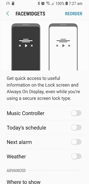 How to add weather widget to lock screen? - Android Forums