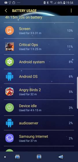 Is this battery drain normal for a 4 day old S9-121.jpg
