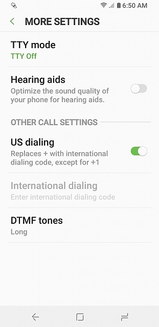 Is there a way to block all calls without turning on