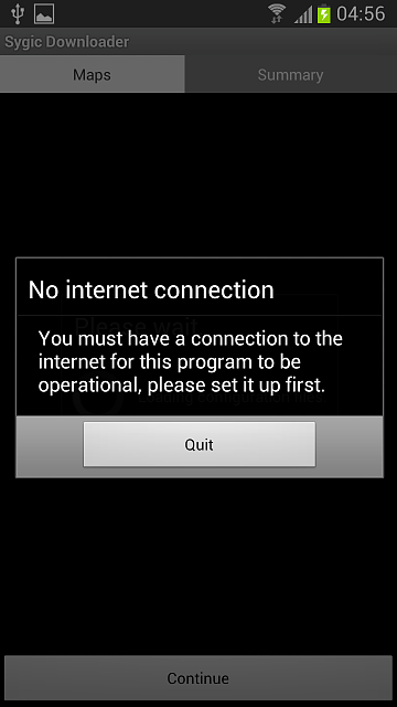 Problem connecting to wifi using sygic program - Android Forums at