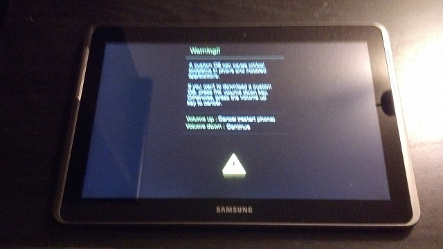 Android Ota Updates Never Fail To Brick My Galaxy Tab 2 10
