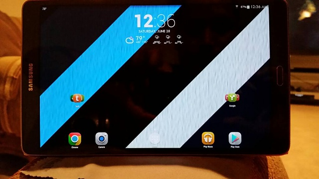 tab S 8.4 I got it... bronze is a nice color wow.  PIC-uploadfromtaptalk1403933990854.jpg