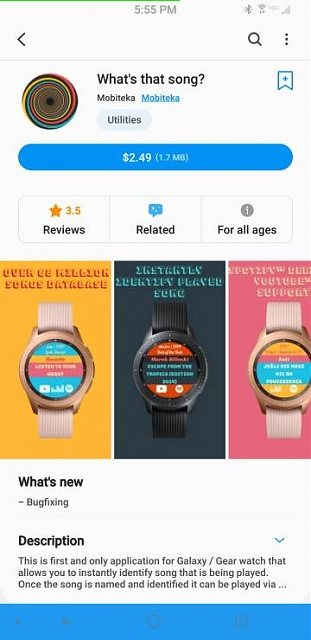 What music detection app works with a Samsung Galaxy Active watch 2?-screenshot_20191229-175507_galaxy-20store.jpeg