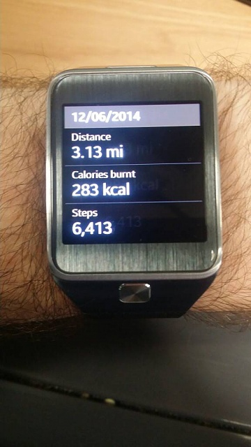 Wanted to compare the accuracy of pedometer and walking on gear 2-uploadfromtaptalk1402726185961.jpg