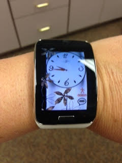 Black watch with a white band?  Pics please!!-front.jpg