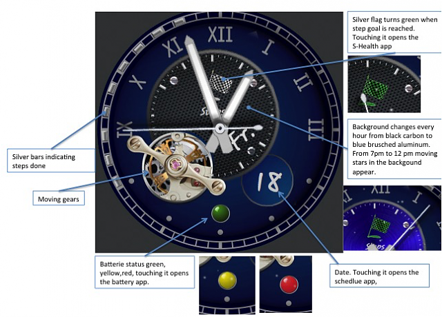 Watch face maker apps [Samsung Gear S2] - Android Forums at