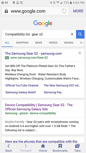 How can I connect my Samsung Gear S2 (Classic) with my Samsung Galaxy Grand Prime?-uploadfromtaptalk1465947824092.jpg