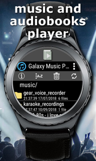 First audiobooks player for Samsung Gear S3 - Galaxy Audio Player for FREE-screenshot_20200901091448911_480_800_320_1.png