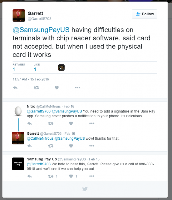 Where Samsung Pay didn't work for you.-samsungpaytweet.png
